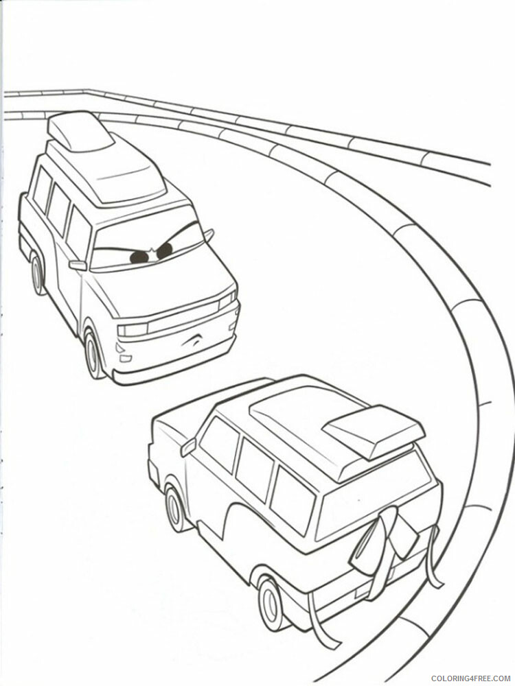 Cars Coloring Pages TV Film cars and cars2 4 Printable 2020 01840 Coloring4free