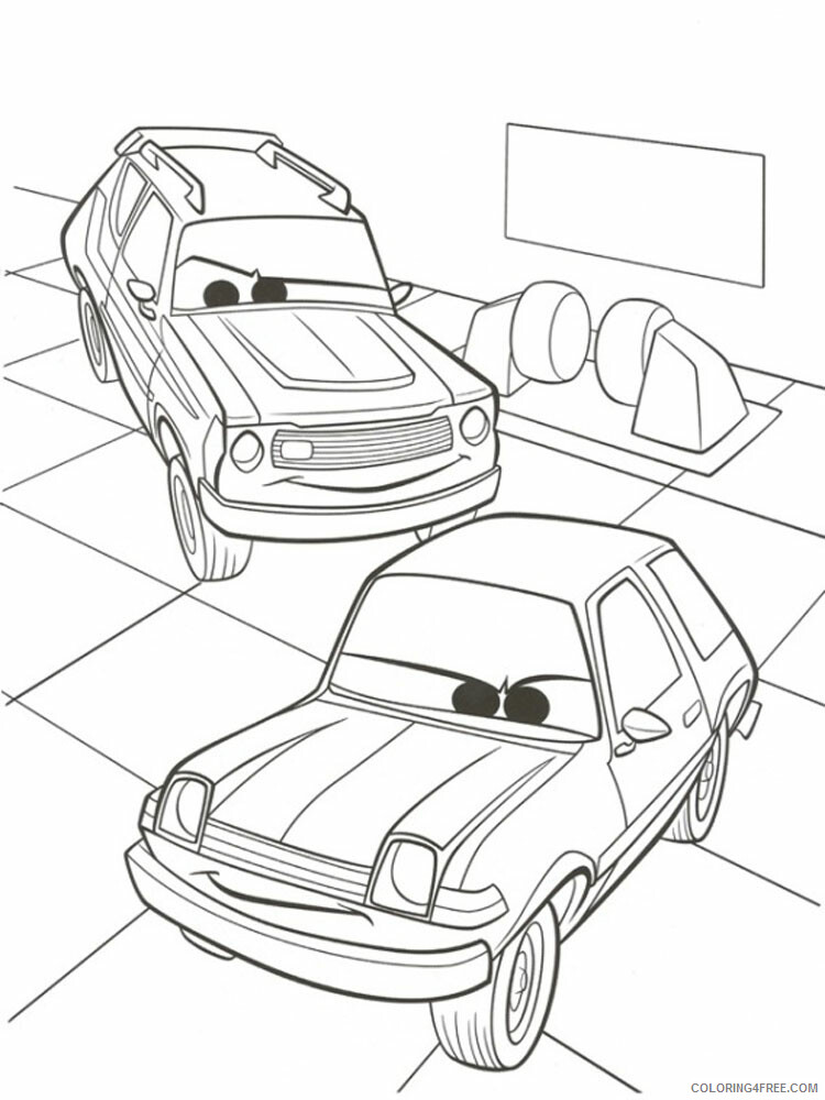 Cars Coloring Pages TV Film cars and cars2 6 Printable 2020 01846 Coloring4free