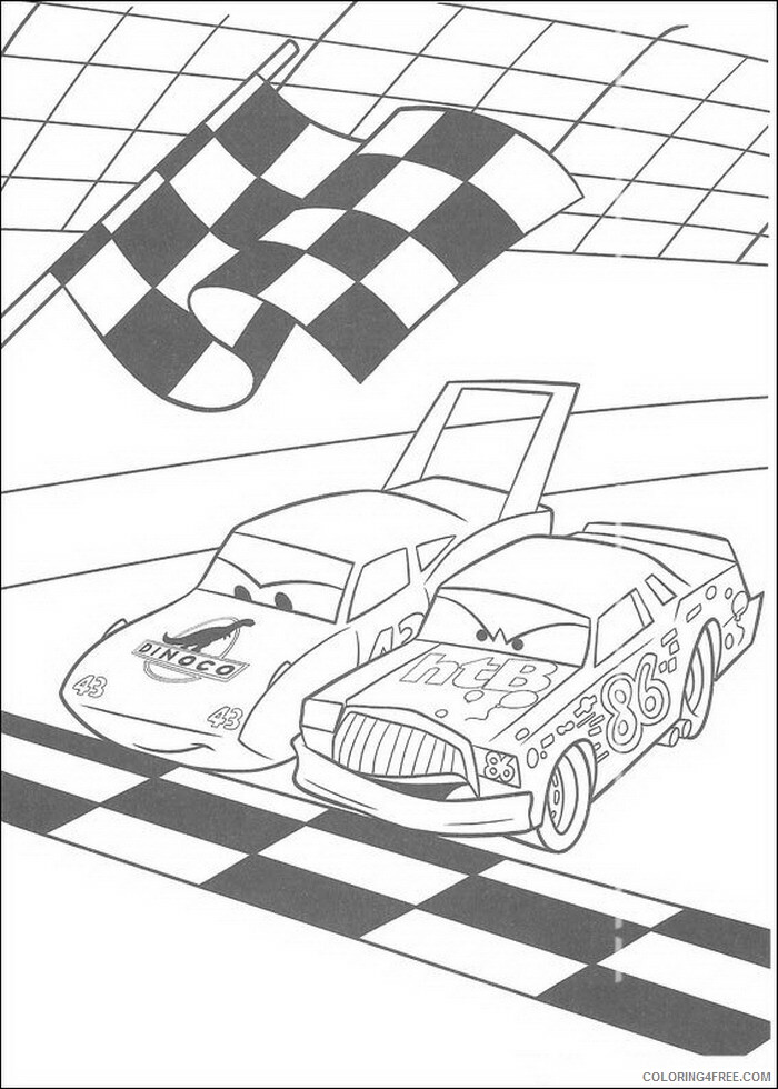Cars Coloring Pages TV Film cars b4AH2 Printable 2020 01856 Coloring4free