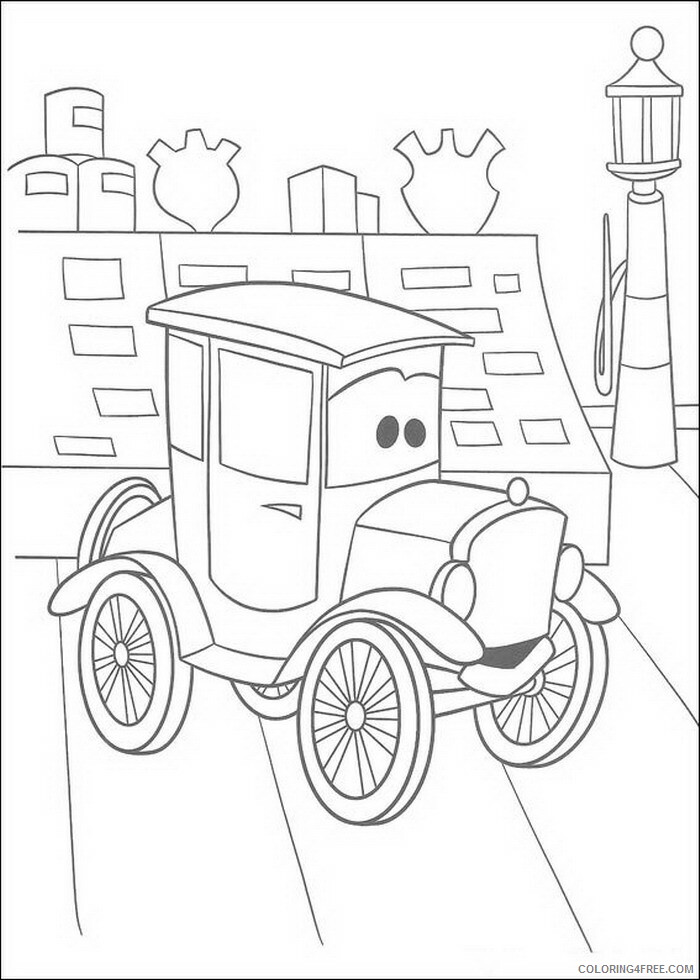 Cars Coloring Pages TV Film cars cxqzE Printable 2020 01860 Coloring4free