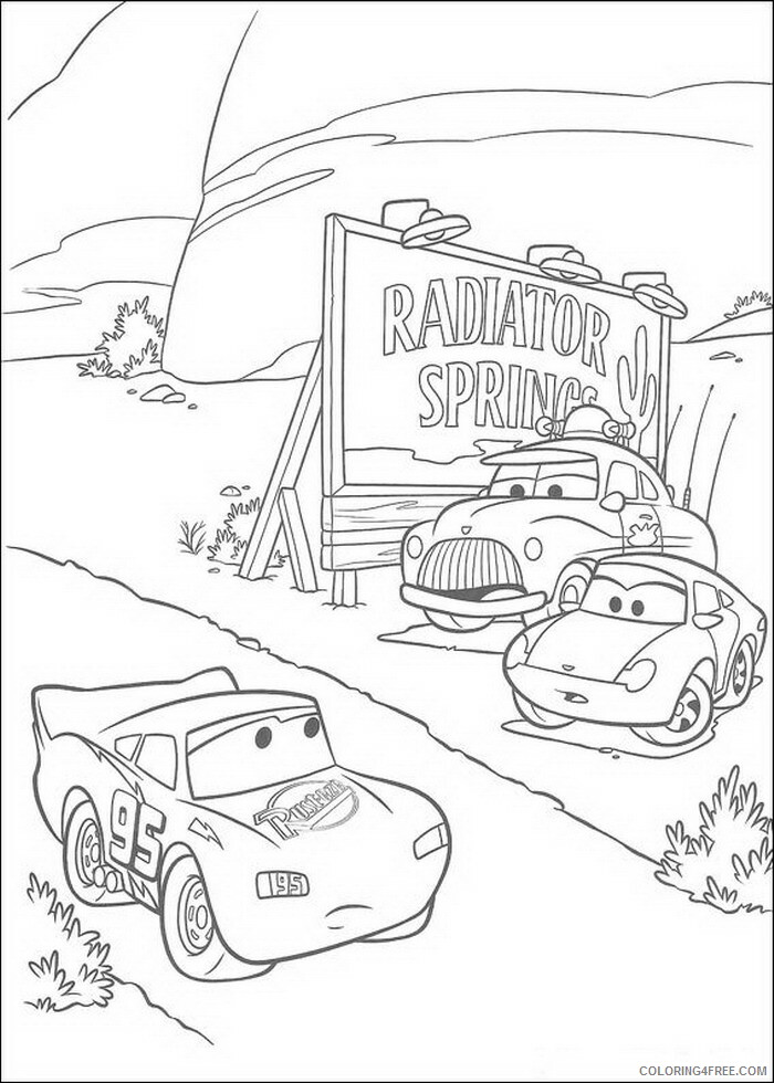Cars Coloring Pages TV Film cars fMn78 Printable 2020 01863 Coloring4free