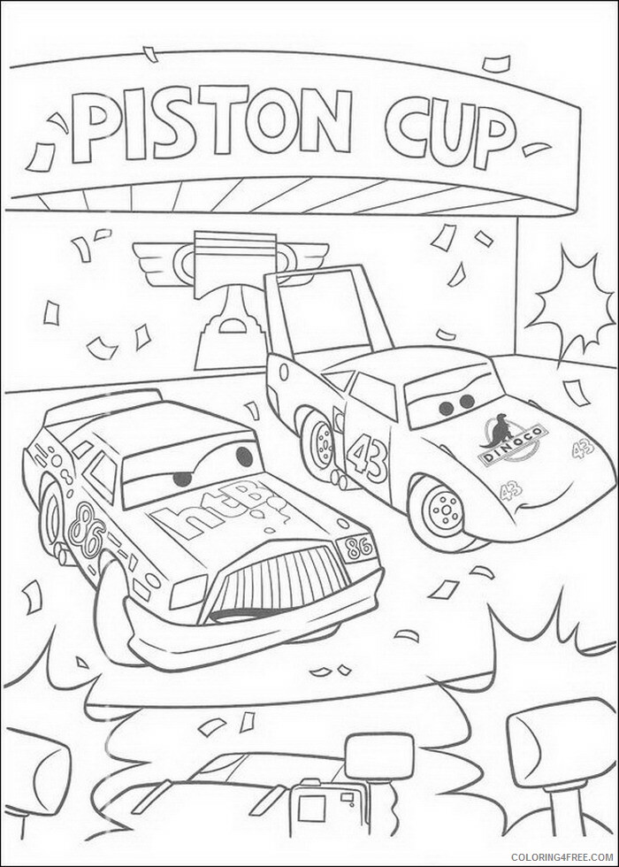 Cars Coloring Pages TV Film cars zRtZq Printable 2020 01884 Coloring4free