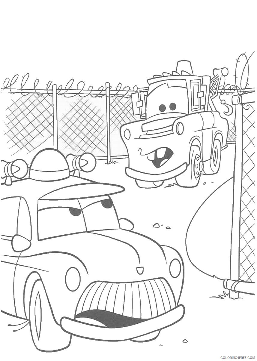 Cars Coloring Pages TV Film cars3 movie10 Printable 2020 01798 Coloring4free
