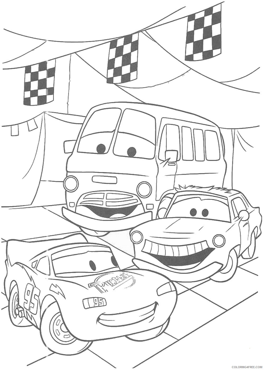 Cars Coloring Pages TV Film cars3 movie12 Printable 2020 01800 Coloring4free