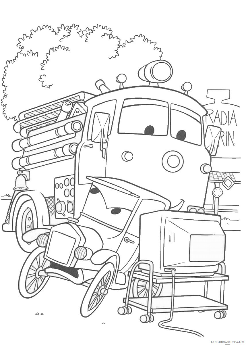 Cars Coloring Pages TV Film cars3 movie15 Printable 2020 01803 Coloring4free