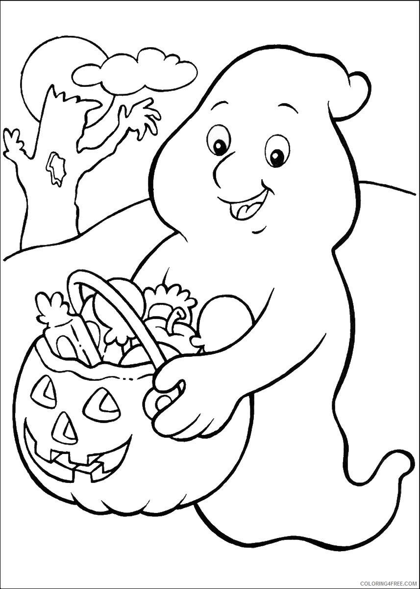 Casper Coloring Pages TV Film casper_cl_34 Printable 2020 02024 Coloring4free