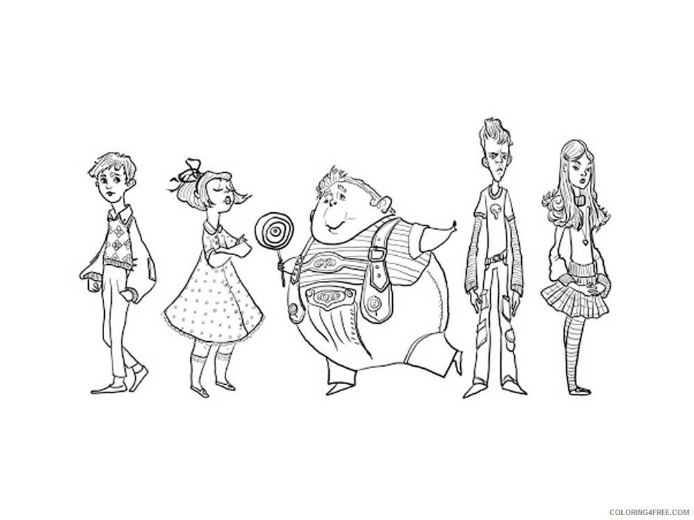 Charlie and the Chocolate Factory Coloring Pages TV Film Printable 2020 02051 Coloring4free