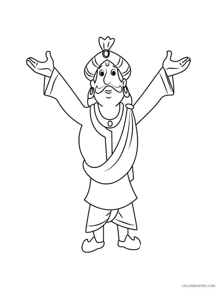 Chhota Bheem Coloring Pages TV Film Chhota Bheem 4 Printable 2020 02059 Coloring4free