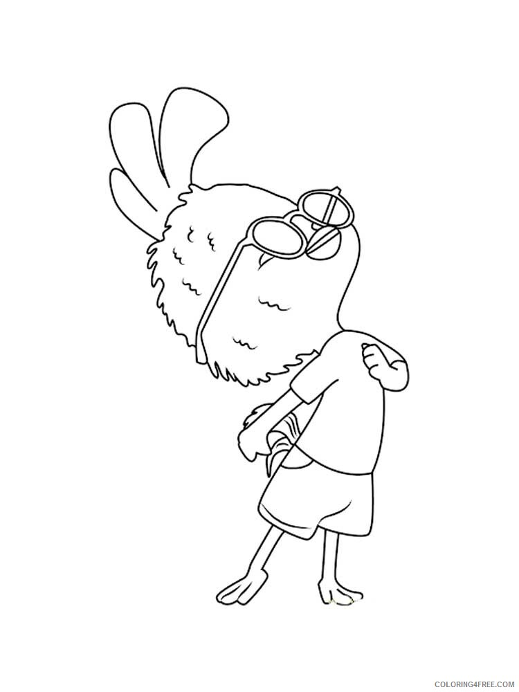 Chicken Little Coloring Pages TV Film Chicken Little 12 Printable 2020 02082 Coloring4free
