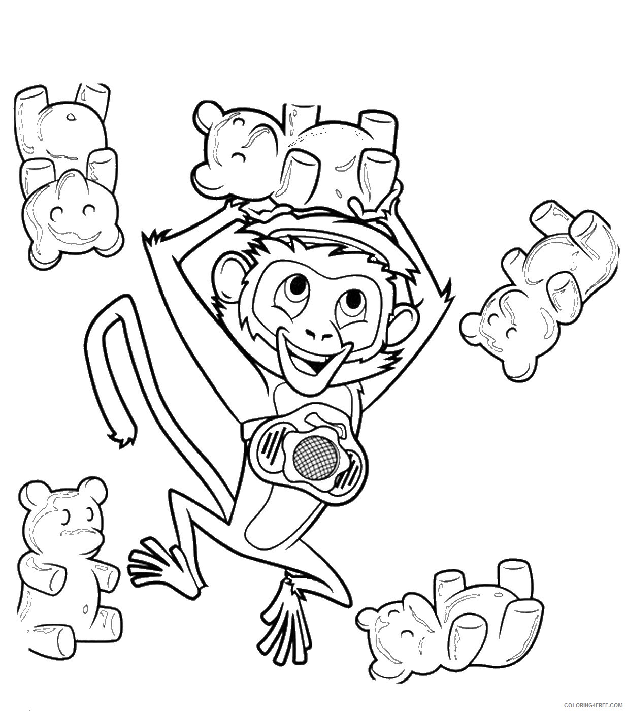 Cloudy With A Chance Of Meatballs Coloring Pages Tv Film Printable 2020 02230 Coloring4free Coloring4free Com