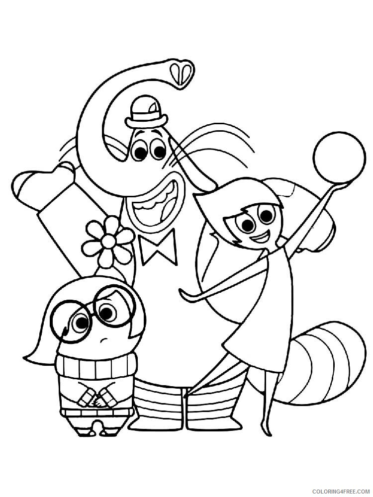 Inside Out Coloring Pages Tv Film Inside Out 7 Printable 2020 03990 Coloring4free Coloring4free Com