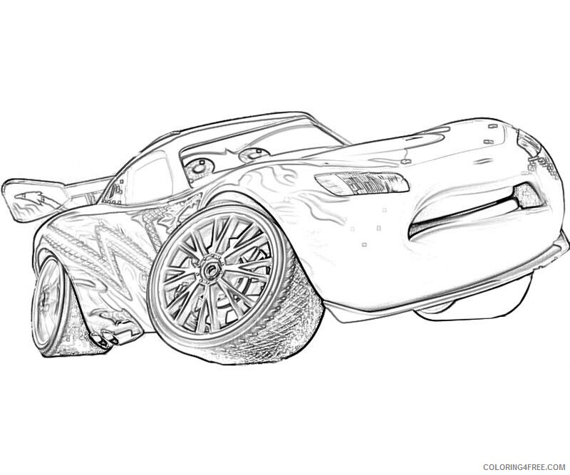 Lightning McQueen Coloring Pages TV Film Images Printable 2020 04434  Coloring4free - Coloring4Free.com