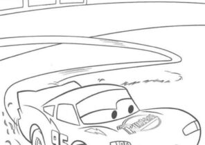 lightning mcqueen coloring pages - coloring4free