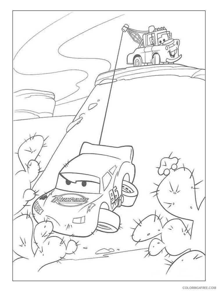 Lightning McQueen Coloring Pages TV Film Lightning Mcqueen 5 Printable 2020  04429 Coloring4free - Coloring4Free.com