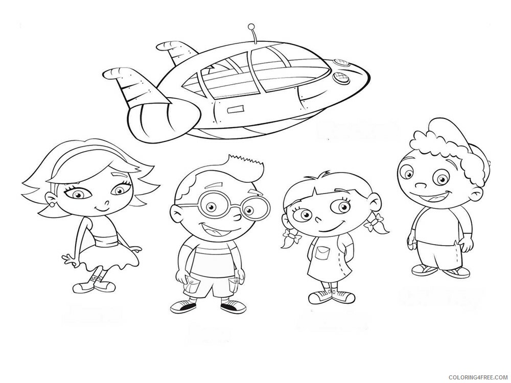 Little Einsteins Coloring Pages Tv Film Little Einsteins 7 Printable 2020 04530 Coloring4free Coloring4free Com