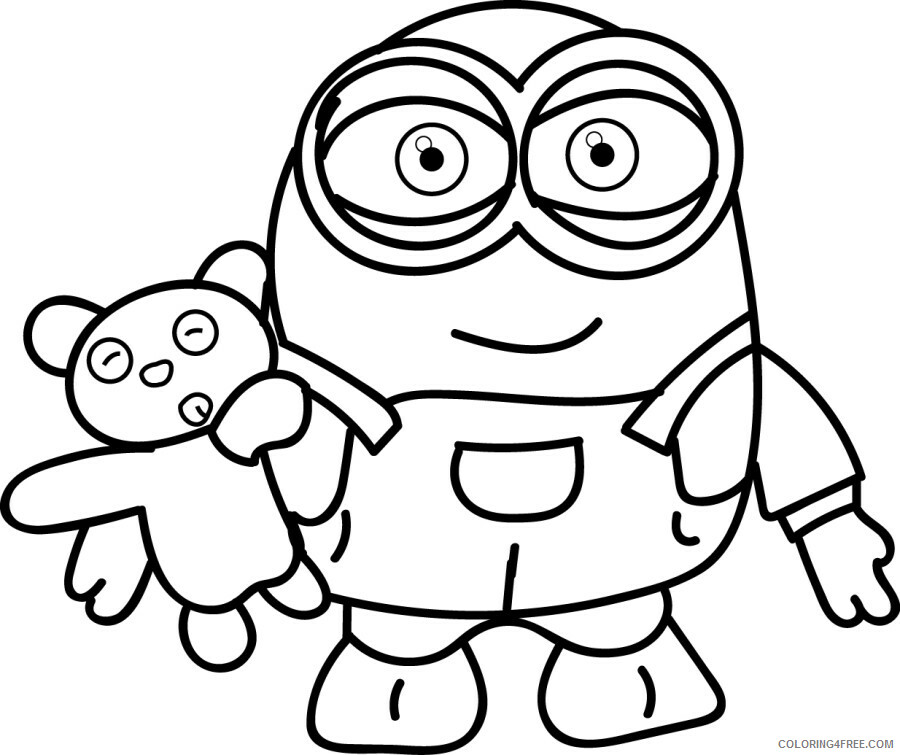 Minions Coloring Pages TV Film Download Free Minions Printable 2020 05180  Coloring4free - Coloring4Free.com