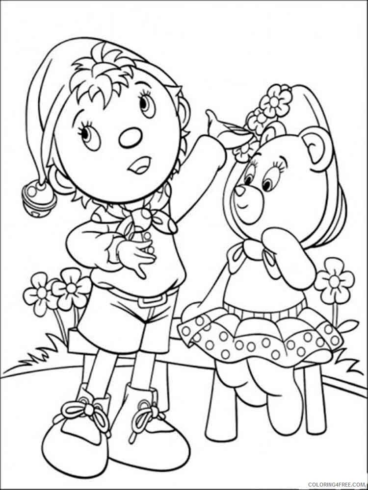 Noddy Coloring Pages TV Film Noddy 14 Printable 2020 05557 Coloring4free -  Coloring4Free.com