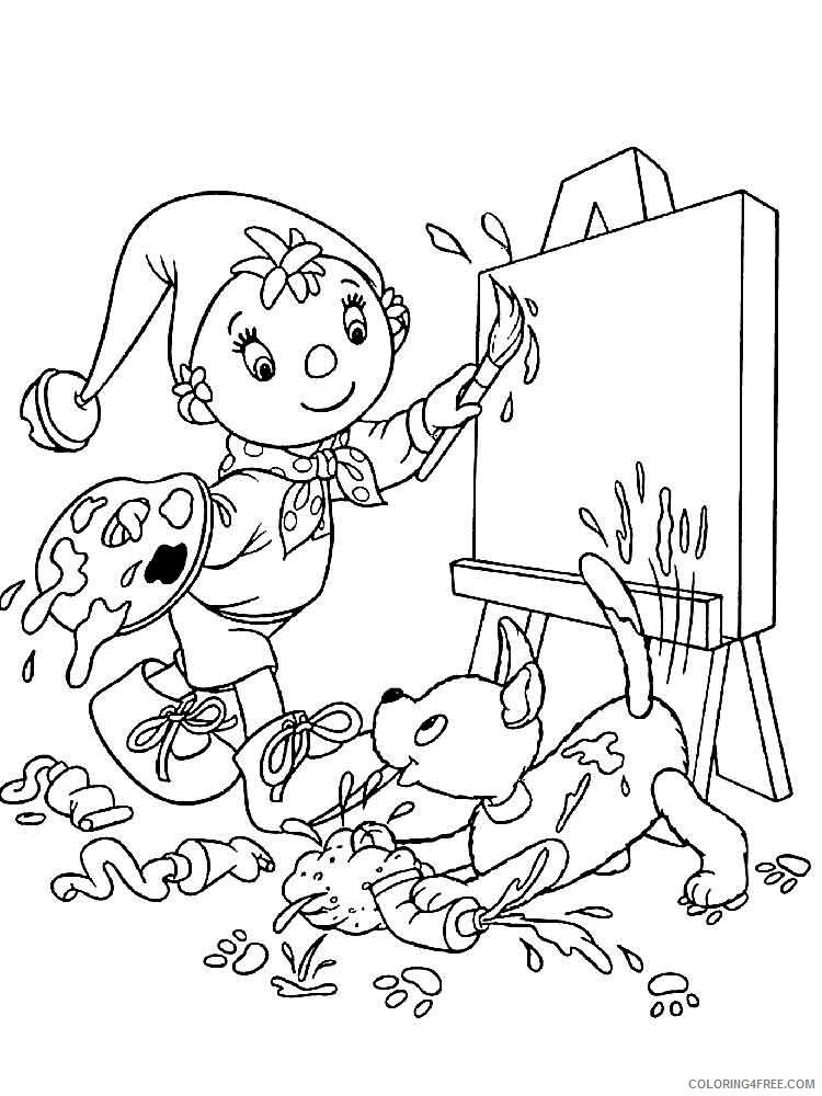 Noddy Coloring Pages TV Film Noddy 4 Printable 2020 05582 Coloring4free -  Coloring4Free.com