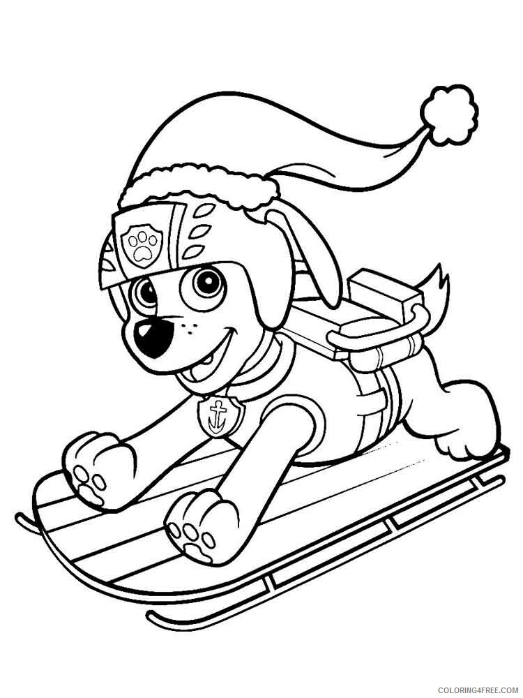 Paw Patrol Coloring Pages TV Film Zuma Paw Patrol 8 Printable 2020 06019  Coloring4free - Coloring4Free.com
