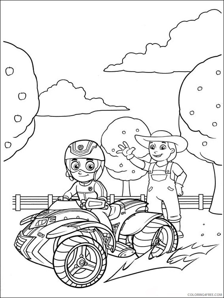 Paw Patrol Coloring Pages TV Film Paw Patrol 13 Printable 2020 05946  Coloring4free - Coloring4Free.com