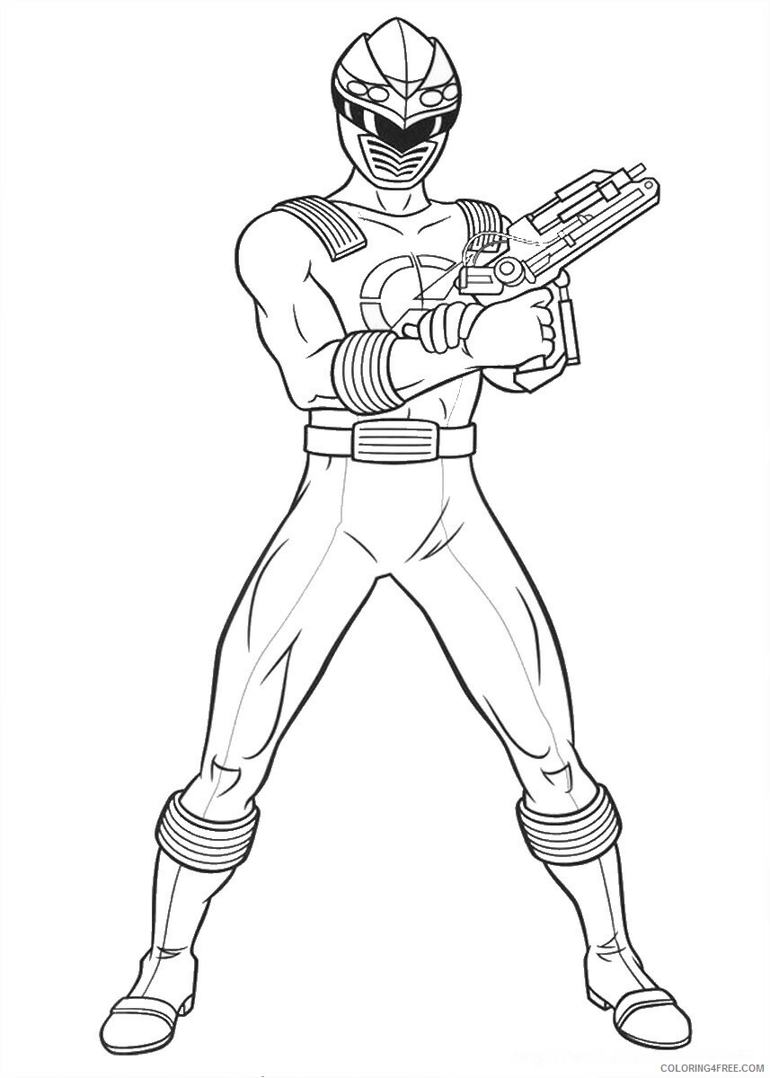 Power Rangers Coloring Pages TV Film power rangers 18 Printable ...