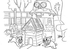 Puppy Dog Pals Coloring Pages Coloring4free Com