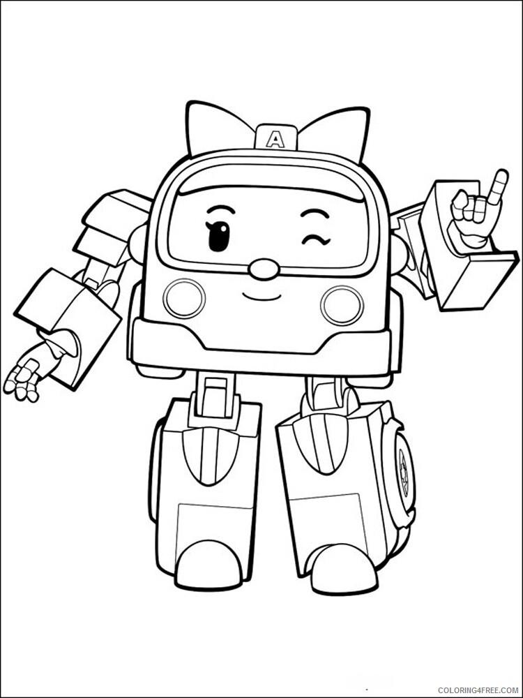 Robocar Poli Coloring Pages TV Film Robocar Poli 16 Printable 2020 07156 Coloring4free