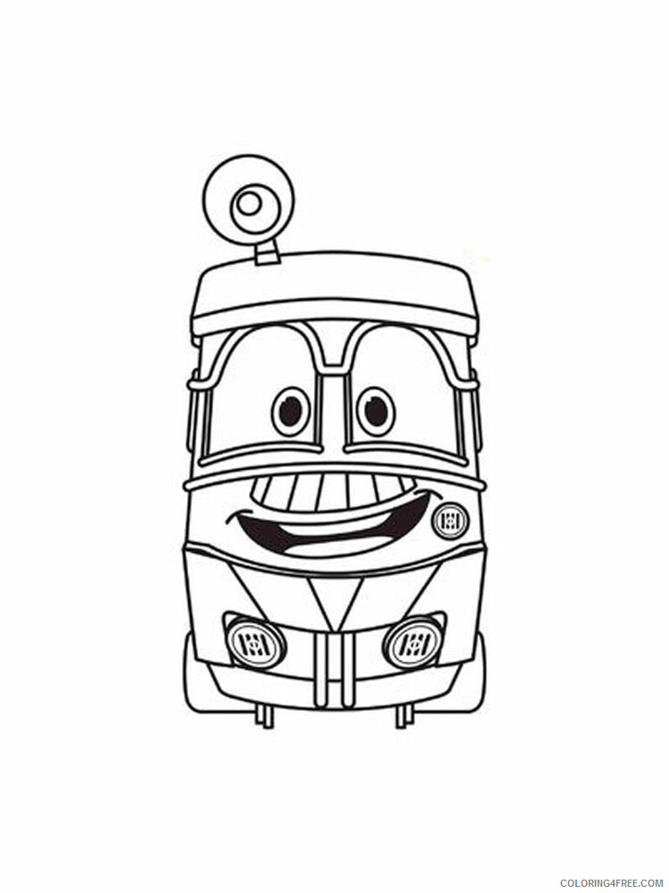 Robot Trains Coloring Pages TV Film Robot Trains 10 Printable 2020 07171 Coloring4free