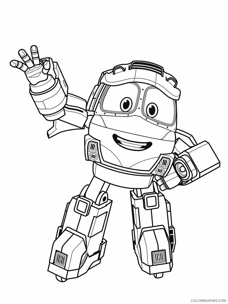 Robot Trains Coloring Pages TV Film Robot Trains 12 Printable 2020 07173 Coloring4free