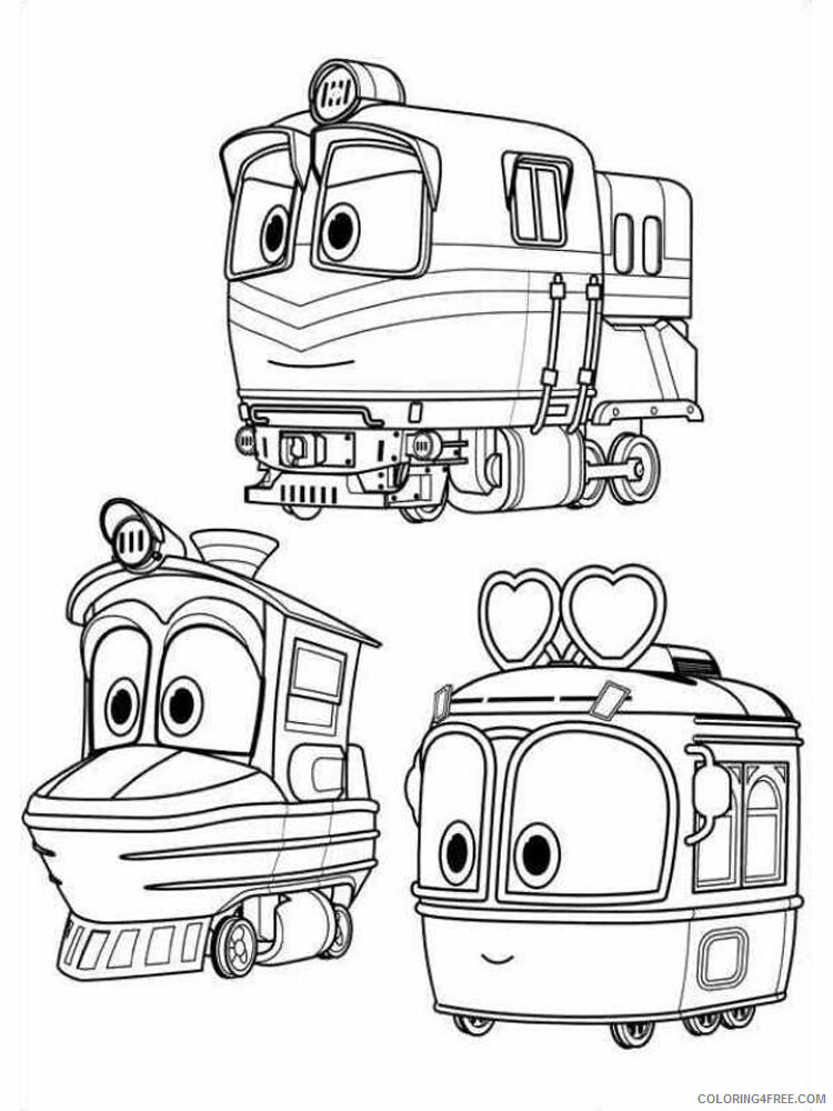 Robot Trains Coloring Pages TV Film Robot Trains 16 Printable 2020 07176 Coloring4free