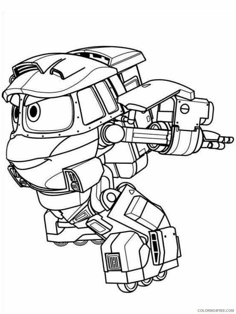 Robot Trains Coloring Pages TV Film Robot Trains 8 Printable 2020 07182 Coloring4free