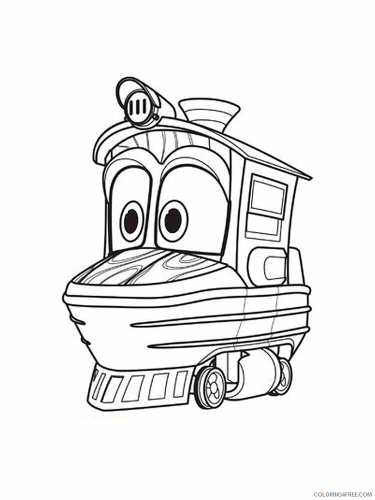 Robot Trains Coloring Pages TV Film Robot Trains 9 Printable 2020 07183 Coloring4free