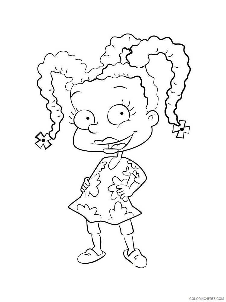 Rugrats Coloring Pages Tv Film Rugrats 2 Printable 2020 07236 Coloring4free Coloring4free Com