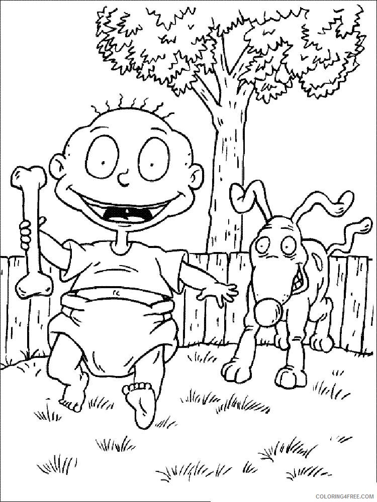 Rugrats Coloring Pages TV Film Rugrats 7 Printable 2020 07241 Coloring4free