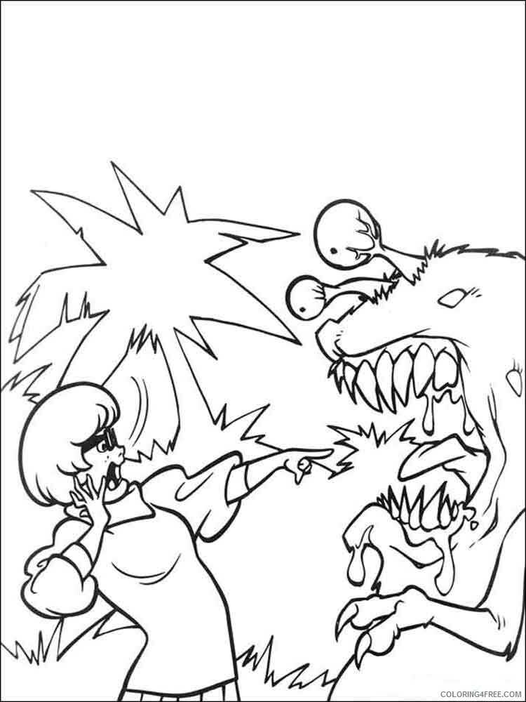 Scooby Doo Coloring Pages TV Film scooby doo 2 Printable 2020 07300 Coloring4free