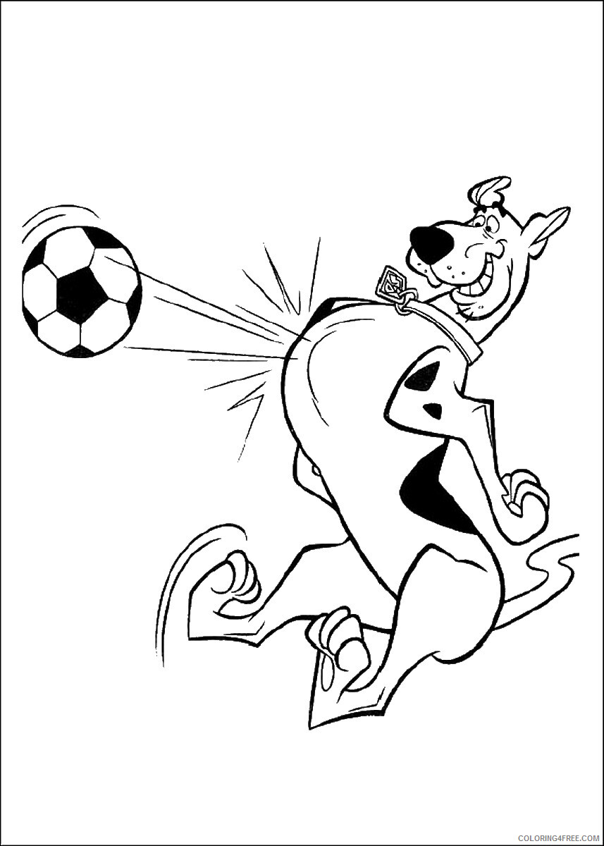Scooby Doo Coloring Pages TV Film scooby_doo_cl_36 Printable 2020 07279 Coloring4free