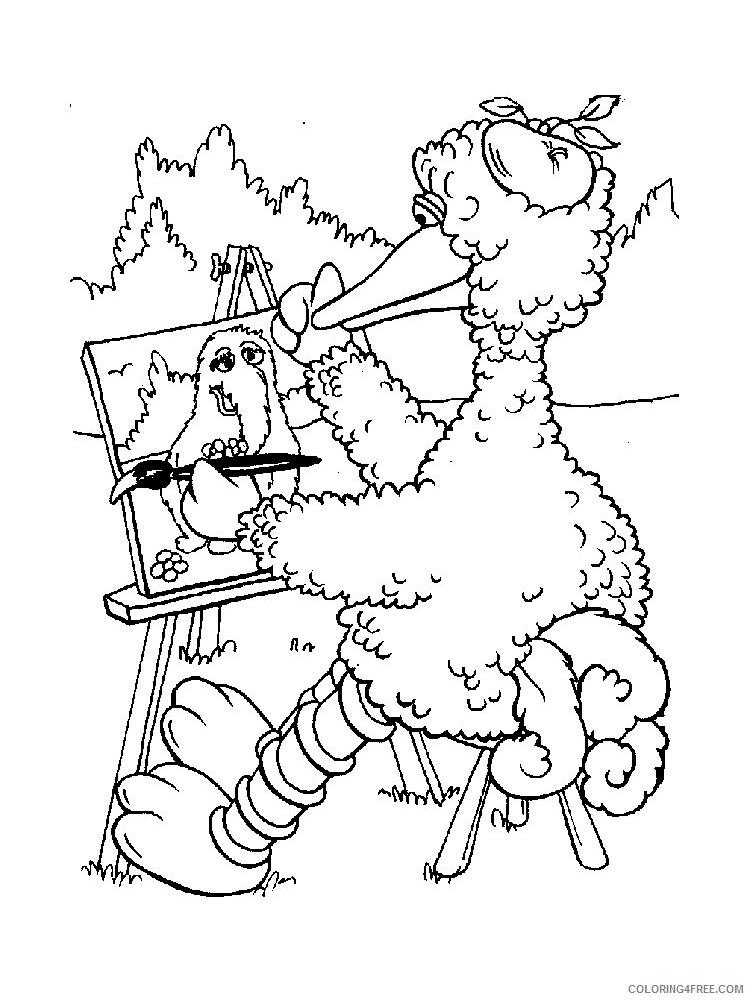 Sesame Street Coloring Pages TV Film Sesame Street 15 Printable 2020 07404 Coloring4free