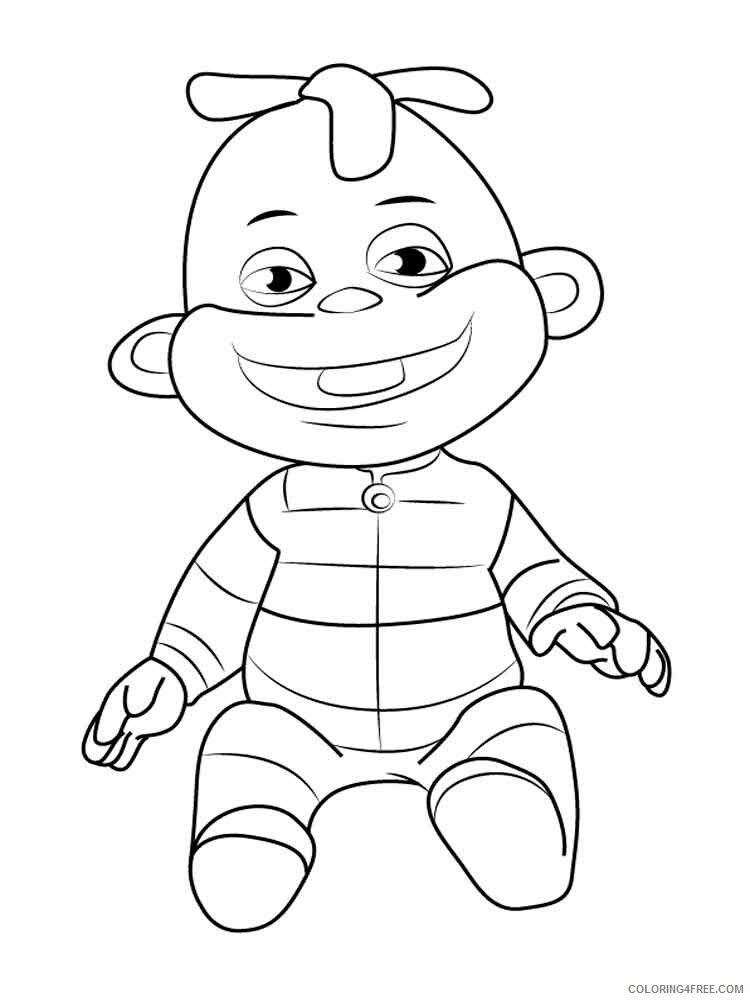 Sid the Science Kid Coloring Pages TV Film Printable 2020 07542 Coloring4free