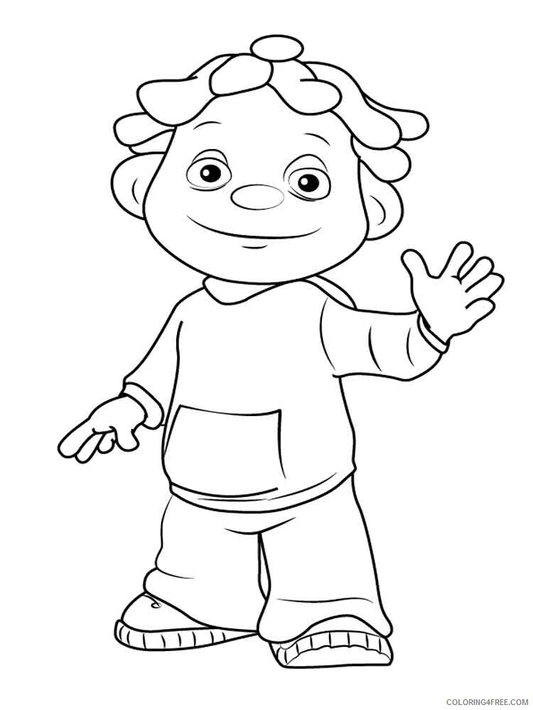 Sid The Science Kid Coloring Pages Tv Film Printable 2020 07549 Coloring4free Coloring4free Com