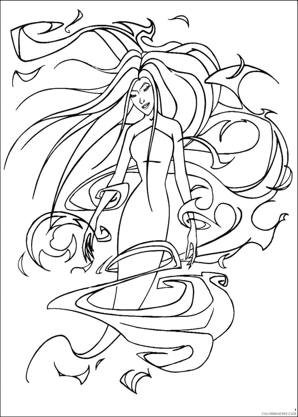 Sinbad Coloring Pages TV Film sinbad_cl_13 Printable 2020 07565 Coloring4free