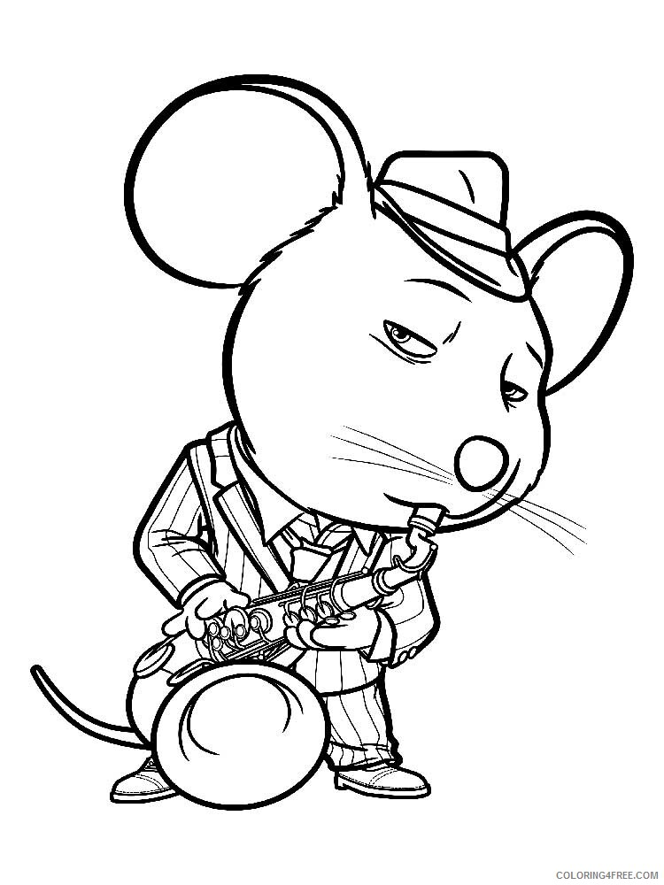 Sing Coloring Pages TV Film Sing 10 Printable 2020 07620 Coloring4free