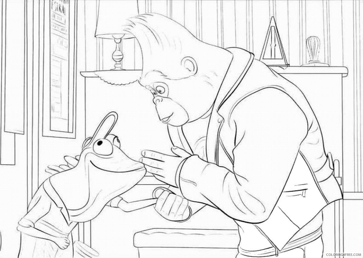 Sing Coloring Pages TV Film sing25 Printable 2020 07610 Coloring4free