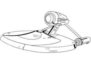 Star Trek Coloring Pages Coloring4free Com