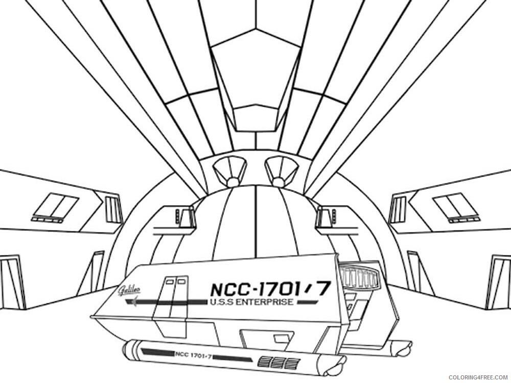 Star Trek Coloring Pages TV Film Star Trek 16 Printable 2020 07721 Coloring4free