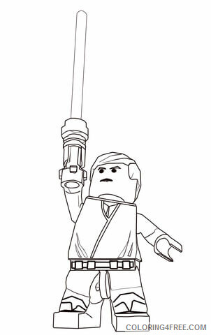 Star Wars Coloring Pages TV Film Lego Star Wars Printable 2020 07809 Coloring4free