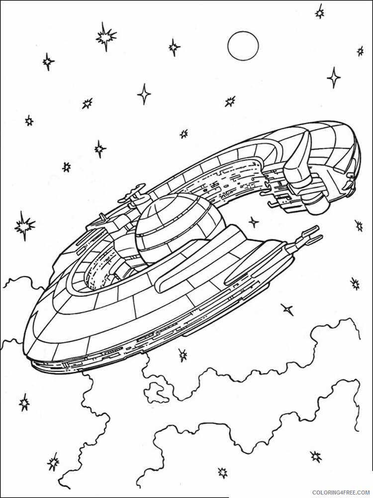 Star Wars Coloring Pages TV Film Star Wars 13 Printable 2020 07970 Coloring4free