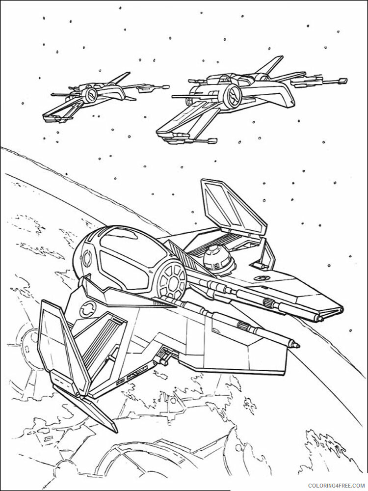 Star Wars Coloring Pages TV Film Star Wars 15 Printable 2020 07972 Coloring4free