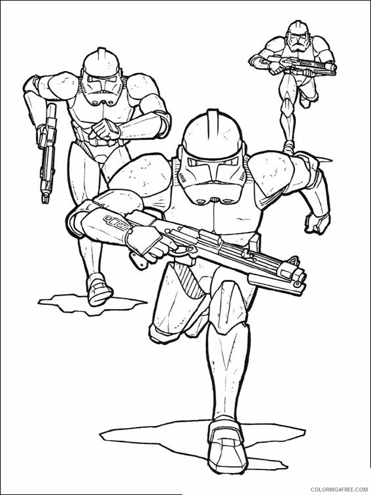Star Wars Coloring Pages TV Film Star Wars 19 Printable 2020 07976 Coloring4free