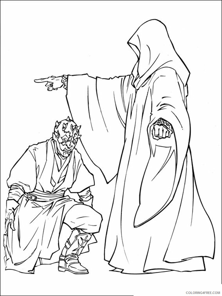 Star Wars Coloring Pages TV Film Star Wars 34 Printable 2020 07994 Coloring4free