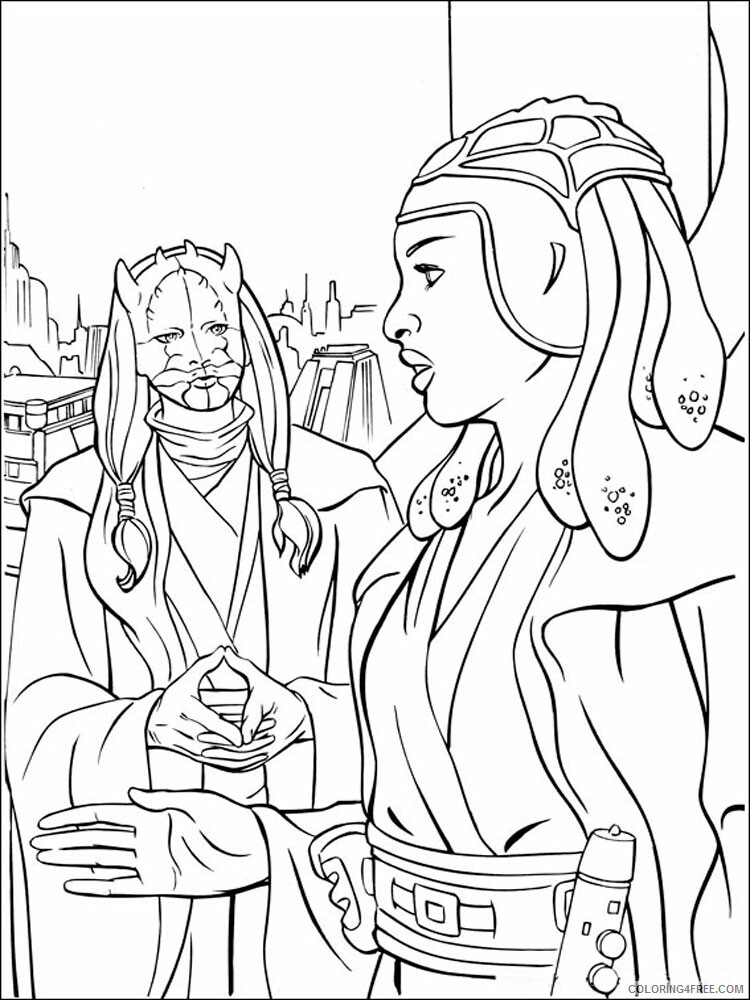 Star Wars Coloring Pages TV Film Star Wars 40 Printable 2020 08001 Coloring4free